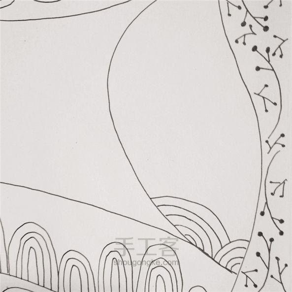 手工绘画:禅绕画 第11步