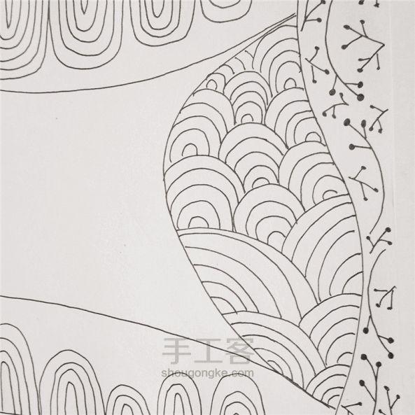 手工绘画:禅绕画 第12步