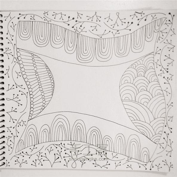 手工绘画:禅绕画 第13步
