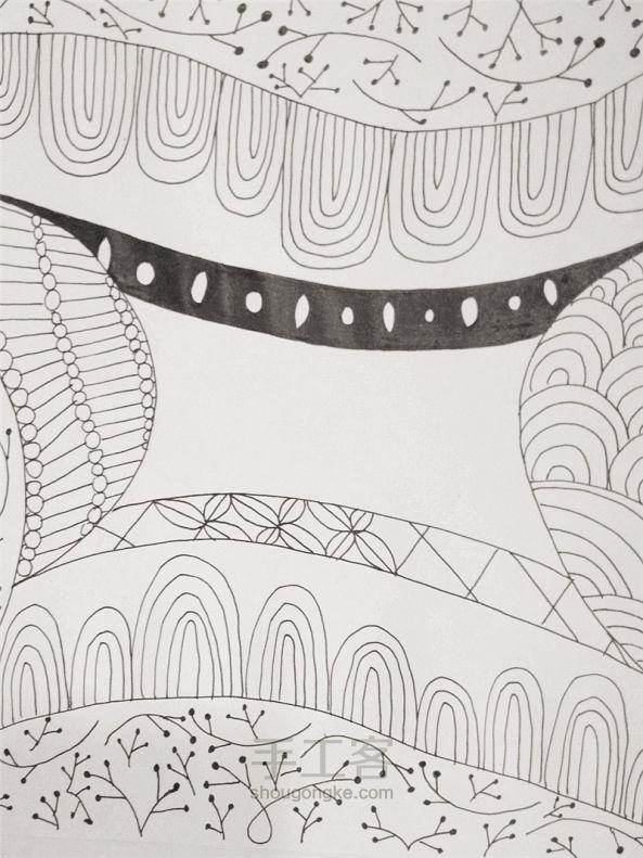 手工绘画:禅绕画 第14步