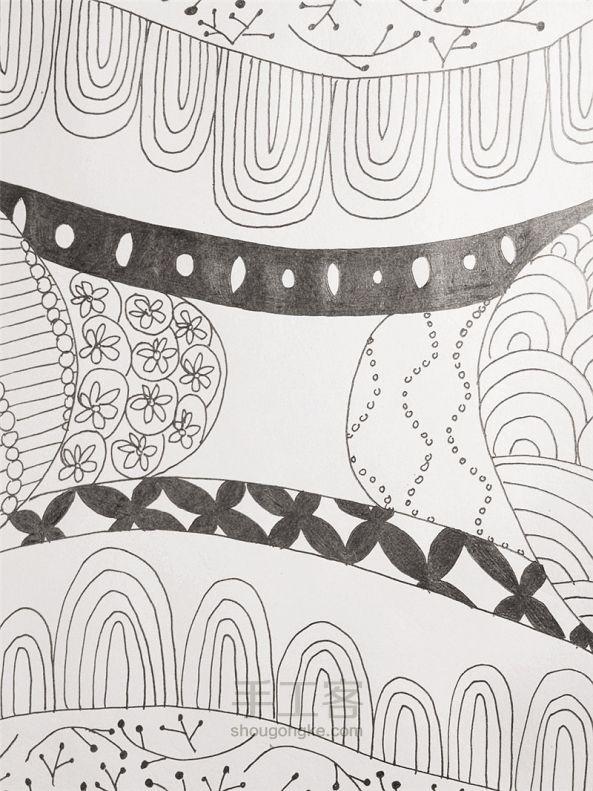 手工绘画:禅绕画 第16步