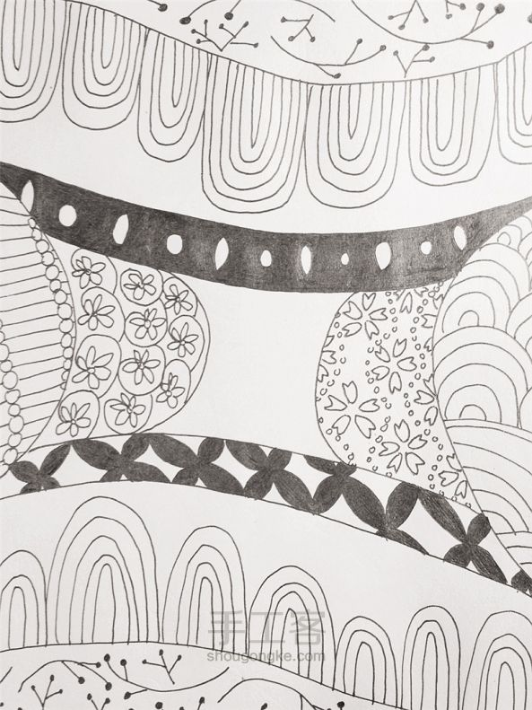 手工绘画:禅绕画 第17步