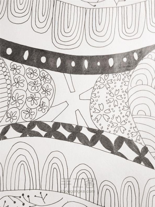 手工绘画:禅绕画 第18步