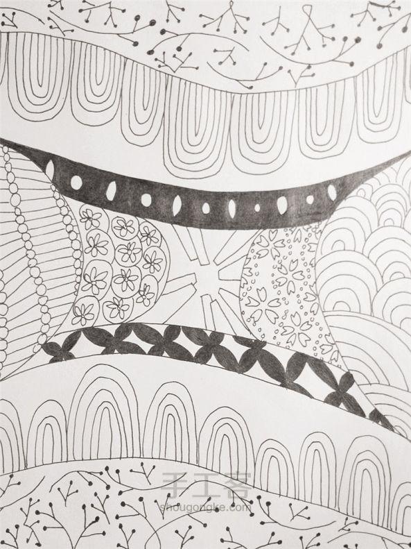 手工绘画:禅绕画 第19步