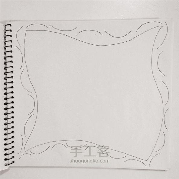 手工绘画:禅绕画 第2步