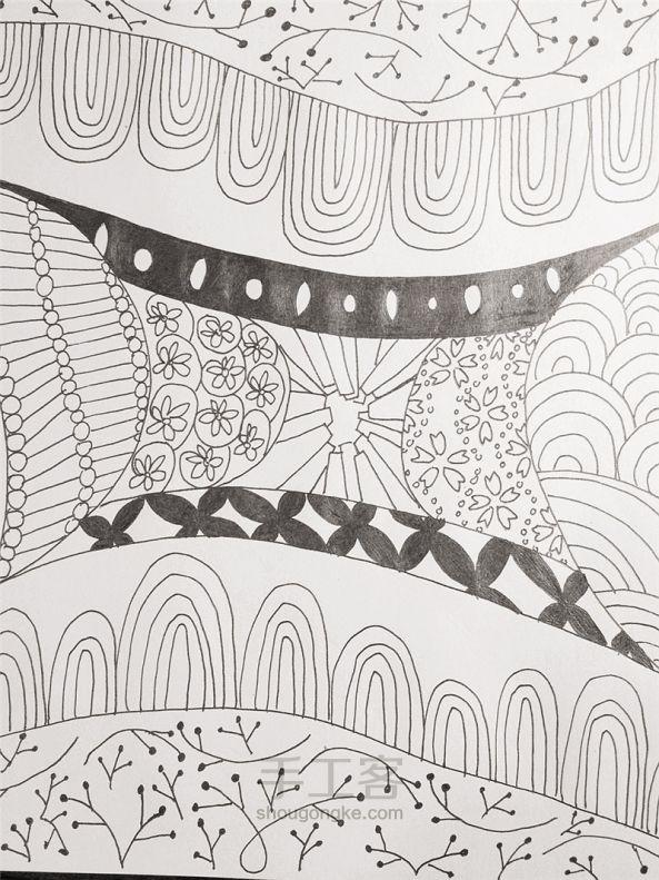 手工绘画:禅绕画 第20步