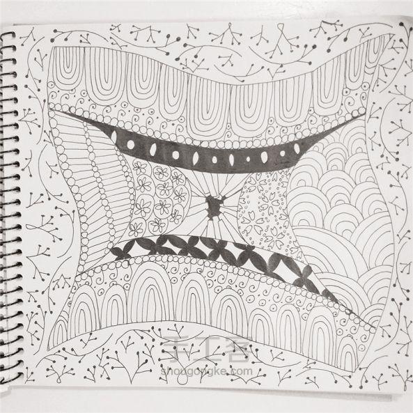 手工绘画:禅绕画 第24步