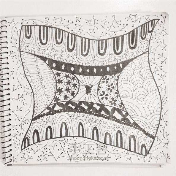 手工绘画:禅绕画 第25步