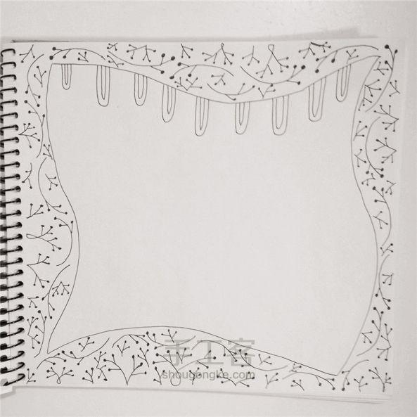 手工绘画:禅绕画 第6步