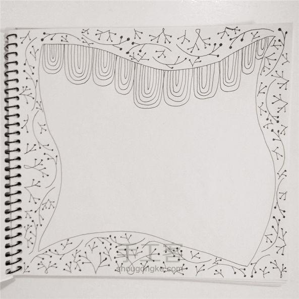 手工绘画:禅绕画 第7步