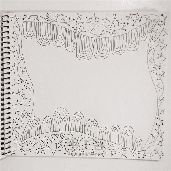 手工绘画:禅绕画 第8步