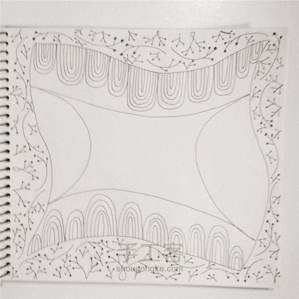 手工绘画:禅绕画 第9步